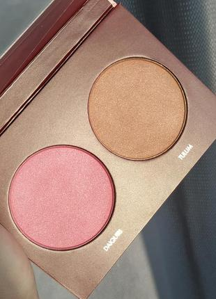 Wander beauty trip for two blush and bronzer duo