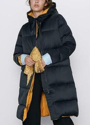 Двохстороння пухова куртка/пальто zara
