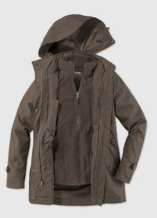 Sale -50%! 3 в 1 куртка-парка водо- и ветронепроницаемая мембрана 3000 tcm tchibo