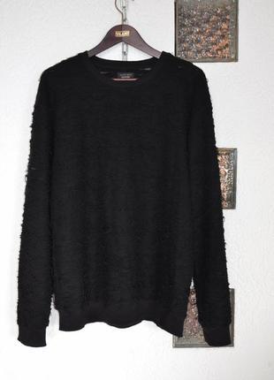 Свитер с эффектом распущенной нити ripped sweater zara