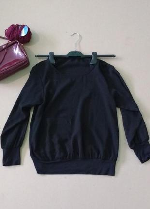 Стильный свитшот с карманом от zara2
