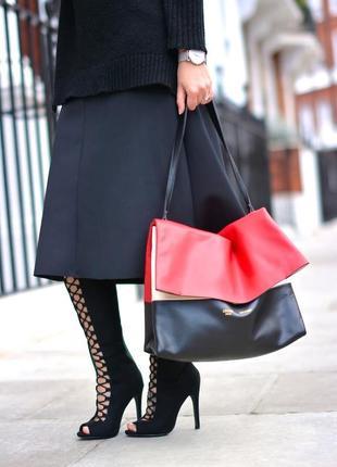 Великолепные сапожки на шнуровке с открытым носком от new look