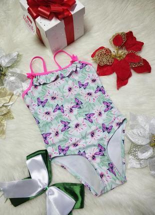 Ніжний купальник для дівчинки 3-4 рочки angels
