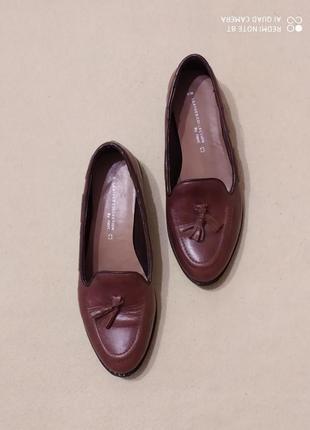 Кожаные туфли-лоферы next