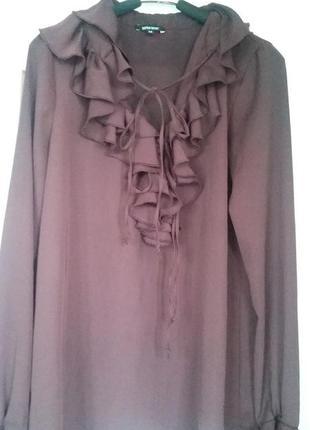 Стильная  итальянская блузка р.м