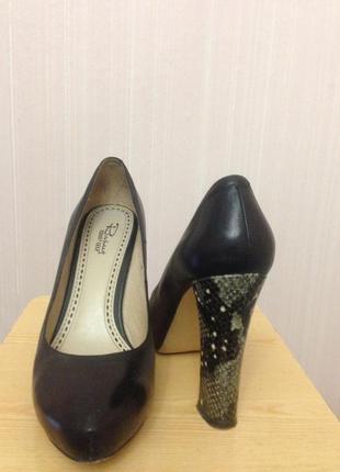 Элегантные потрясающие туфли-лодочки