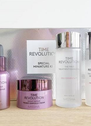 Набор бестселлеров missha time revolution special miniature kit