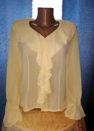 Блузка шыфон.