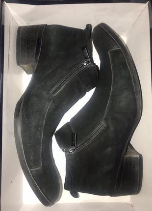 Ботинки мужские деми натуральный нубук 42 р-р