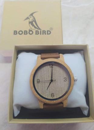 Новые деревянные унисекс часы (с арабским циферблатом)