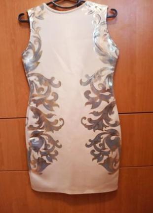 Шикарное платье элегантное, стильное, нарядное, золотистое