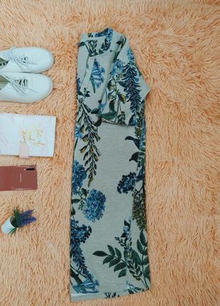 Платье,платице с цветочным принтом