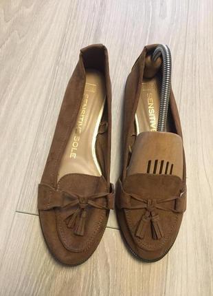 Туфли мокасины asos