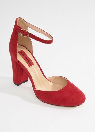 Красные туфли 38р london rebel