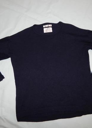 Свитер джемпер свитшот модный от zara на девочку 9-10 лет ширококройный