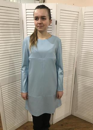 Платье для кормления с кожаными рукавами lullababe - m (44)