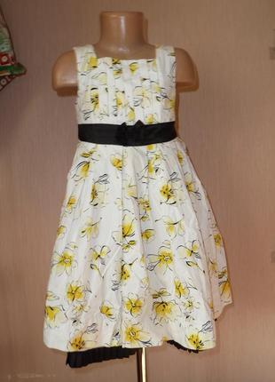 Очень красивое нарядное платье maggie&zoe на 5 лет