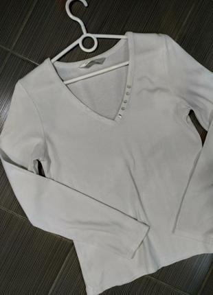 Кофта футболка длинный рукав