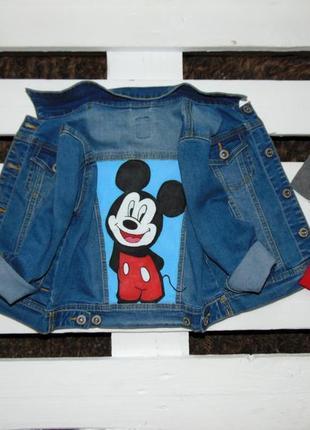 Крутезна джинсовка для вашого стиляги фірми primigi ріст 110