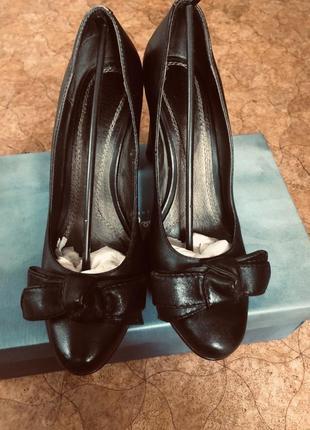 Удобные туфли, кожа 👠👠