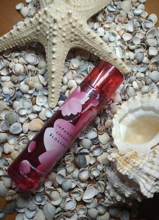 Мист парфюмированный спрей для тела японская вишня от bath& bodyworks