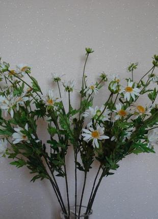Искусственные цветы ромашки