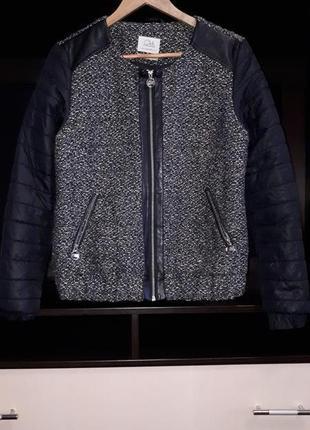 Комбинированная куртка-бомпер раз.l
