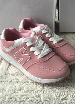 Розовые спортивные кроссовки megasale на последние 2 пары