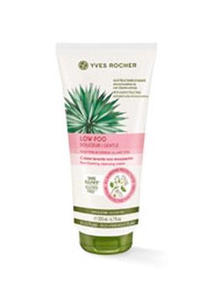 Крем-шампунь для волос low shampoo yves rocher 200 ml