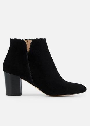 Sale -50%! деми ботинки из натуральной замши бренда minelli