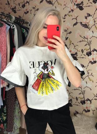 Крутая футболка , футболка с принятом