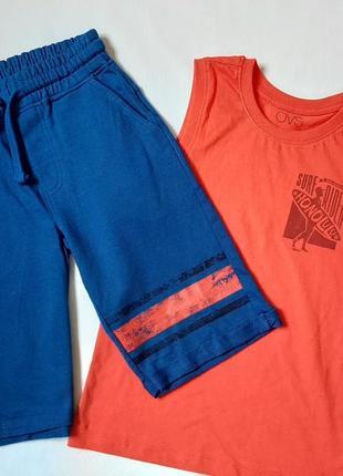 Комплект майка и шорты для мальчика   р 7\122