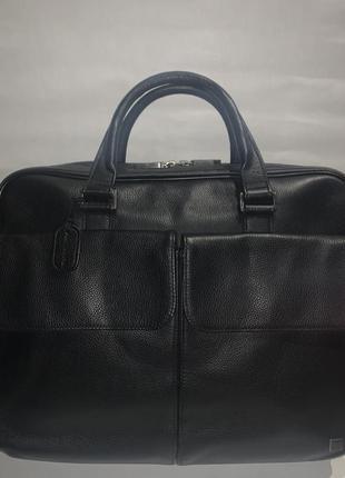 Англия!большая кожаная сумка- портфель danhill. формат а-4.