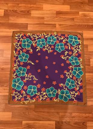 Платок в цветочный принт kenzo
