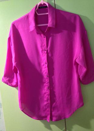 Блуза цвета фуксии kira plastinina