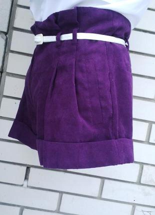 Новые шорты miss selfridge под замшу.2