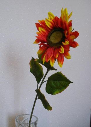 Искусственный цветок подсолнух