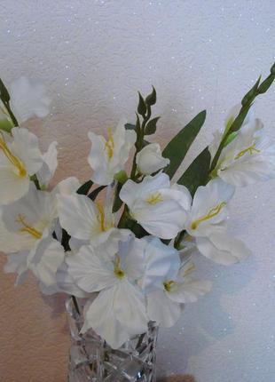 Искусственные цветы гладиолусы