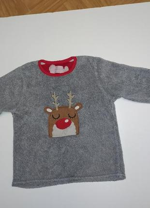 Кофта свитер махровый