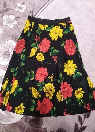 Красивая юбка гофре 14 размер