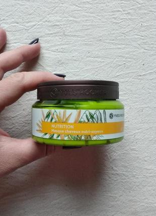 Маска для волос питание и шелковистость
