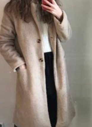 Классное плюшевое пальто