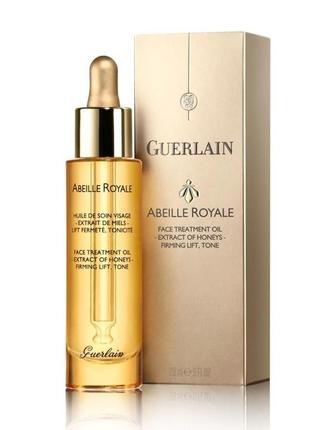 Масло для лица guerlain abeille royale face treatment oil сыворотка для лица лифтинг