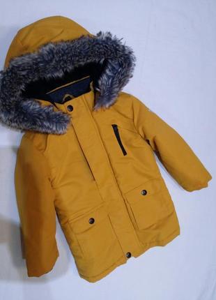 Бомбезна парка-курточка на 2-3рочки primark