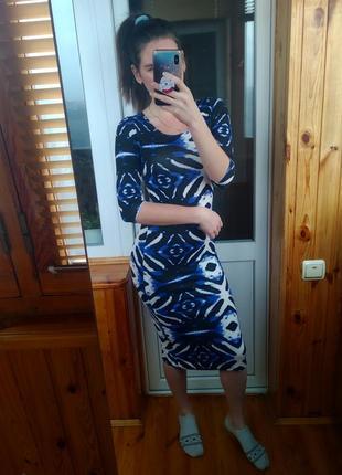 Классное платье миди