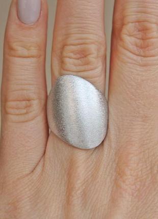 Серебряное кольцо родосс р.18