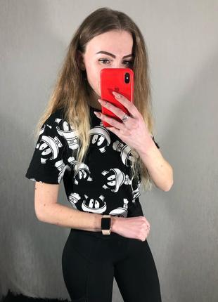 🌿 крутая футболка с мультяшками из детства от primark