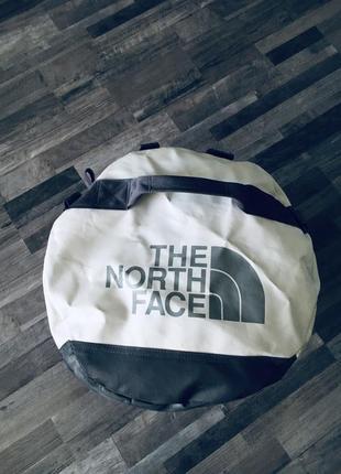 Большая сумка tnf 80l. дорожная сумка the north face.