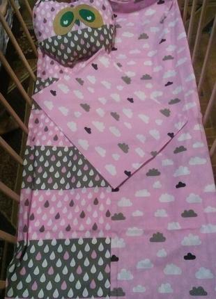 Комплект детского белья в кроватку