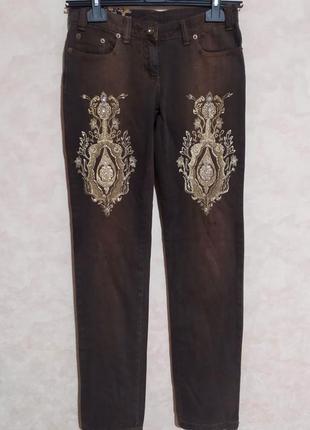 Необычные джинсы мом, прямые, lupattelli, m/28